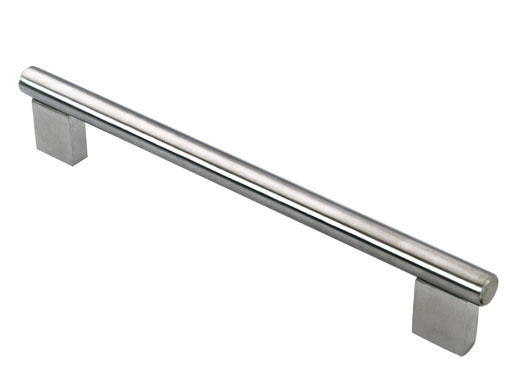 stainless steel glass door handle pull
